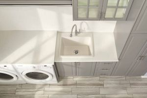 "Laundry Room Sink Lovely Quartz Classic 25"" X 22"" X 11 13 16"" Drop In Laundry Sink"