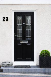 Modern Door Stop Lovely A Beautiful Modern Altmore Posite Door with Modern Zinc