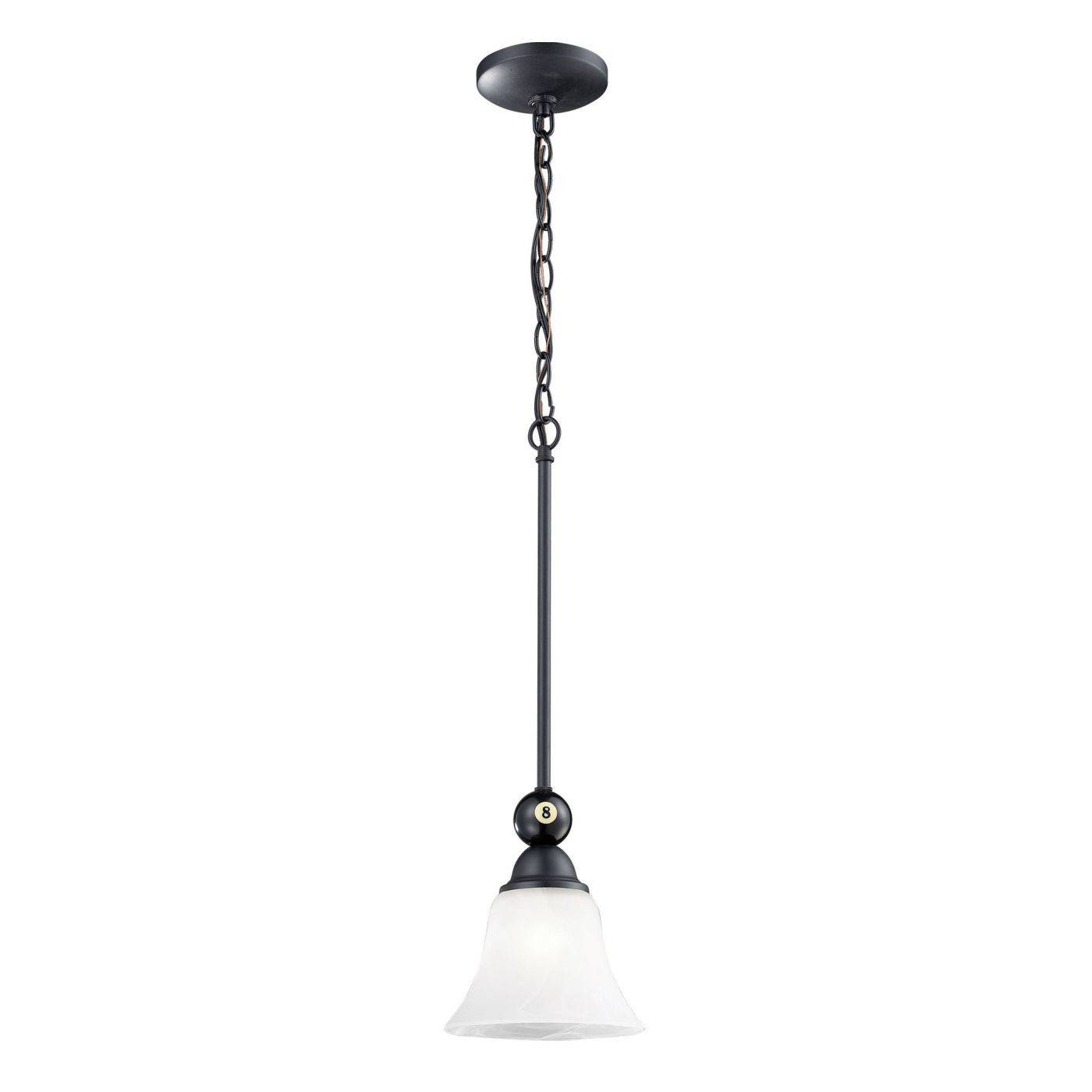 ceiling lamps elk group 1 designer classics light billiard pendant in matte black lamp 519