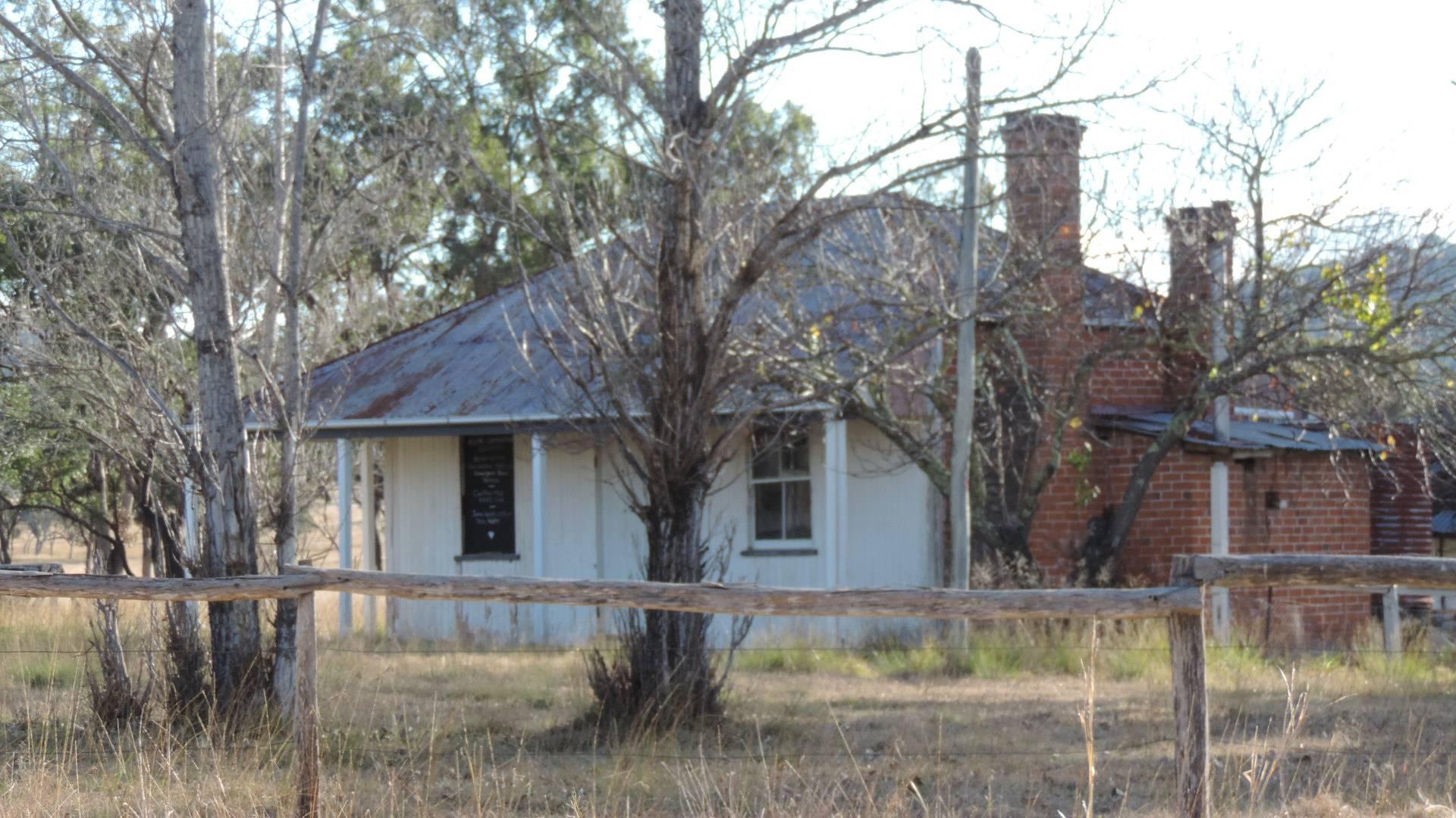 Detached kitchen Ballandean Homestead 2015