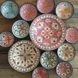Picturesque Moroccan Decorative Wall Plates Awesome Moroccan Plates