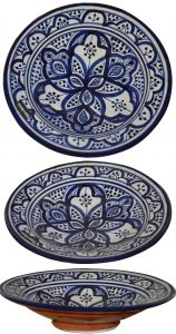 Picturesque Moroccan Decorative Wall Plates Fresh Decorative Plates and Bowls Moroccan Ceramic Plate