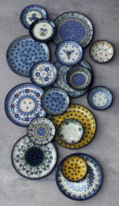 Picturesque Moroccan Decorative Wall Plates Luxury Spring Floral Design Plates Traditional Handmade Polish