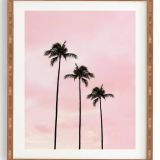 Picturesque Palm Tree Wall Decor Inspirational Deny Designs Palm Trees & Sunset Framed Wall Art Size E