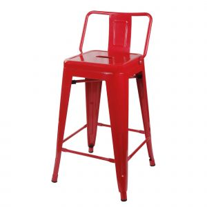 Red Bar Stools Inspirational 24 Lowback Metal Stool Products