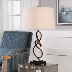 Rustic Table Lamps Inspirational Uttermost Tenley Oil Rubbed Bronze Lamp