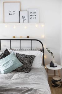 Scandinavian Bedroom Beautiful Be Our Guest