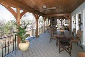 Screened In Patio Elegant Rustically Rich and Wonderful Outdoor Living Design Ideas