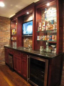 Wet Bar Cabinets Lovely Future Wet Bar In 2020