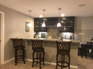 Wet Bar Cabinets Unique Basement Bar