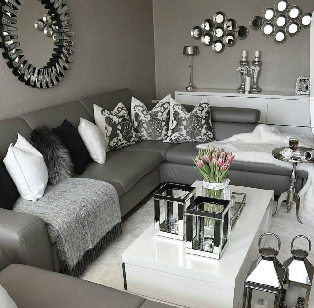 Best Of Black and White Decorating Ideas for Living Rooms ...