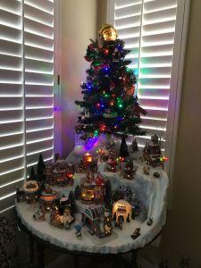 Best Of Christmas House Decorations Indoor Lovely Custom Miniature Christmas Village Display Platform