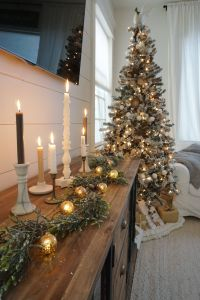 Best Of Christmas House Decorations Indoor New Neutral Christmas Living Room