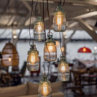 Best Of Diy Lamp Beautiful Pressed Glass Industrial Hanging Lamps Designed In the 60s