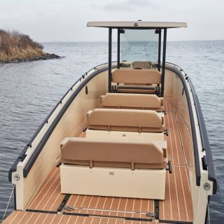 Boat Shaped Casket Fresh Modular E Boat Slices the High Seas with Swiss Army Knife