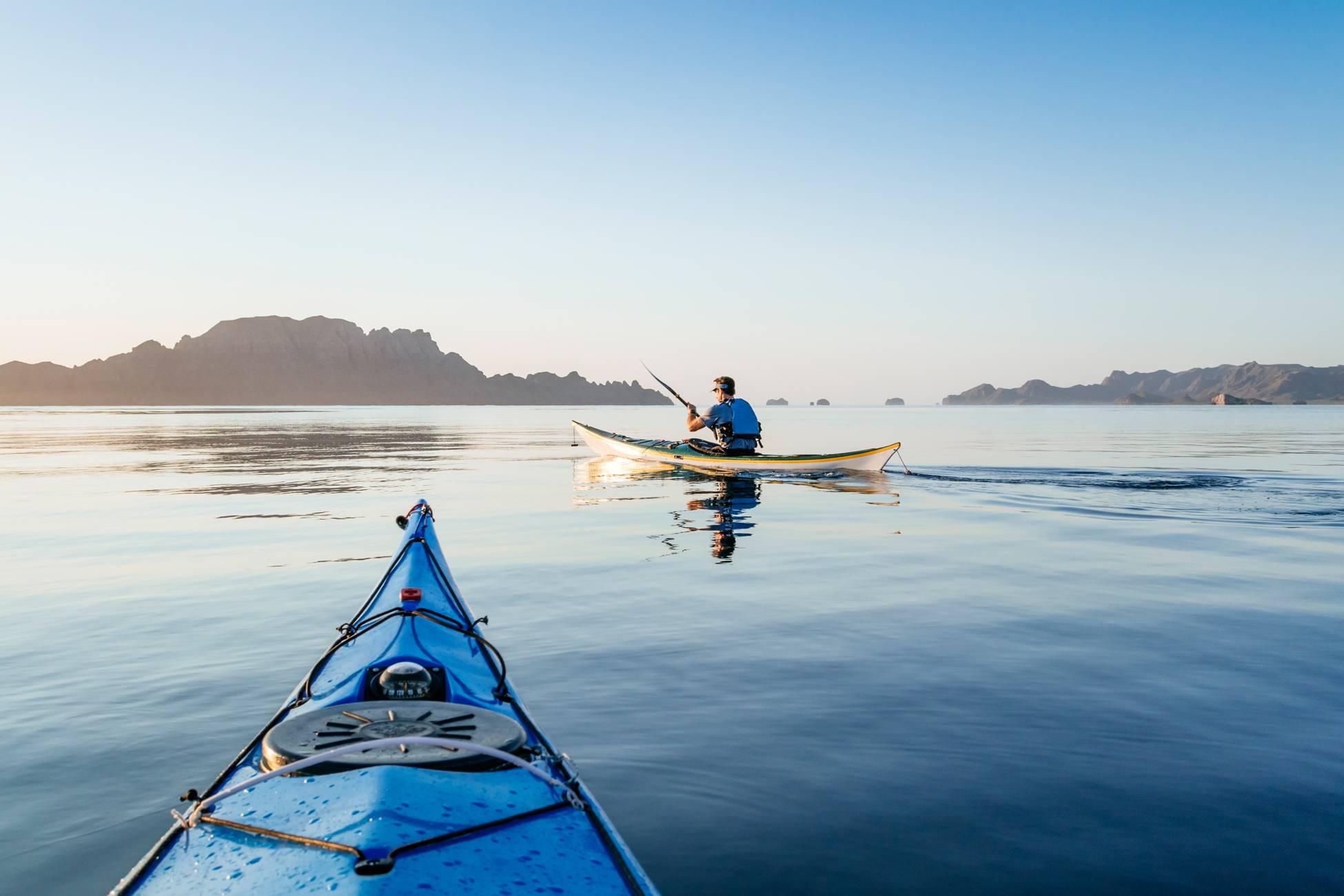 kayaking loretobay baja mexico