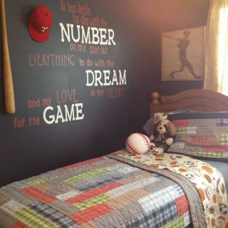 Boys Bedroom Ideas Awesome Baseball Room