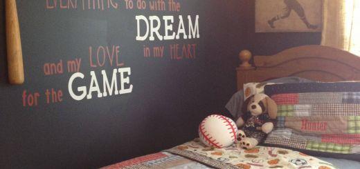 Boys Bedroom Ideas Awesome Baseball Room