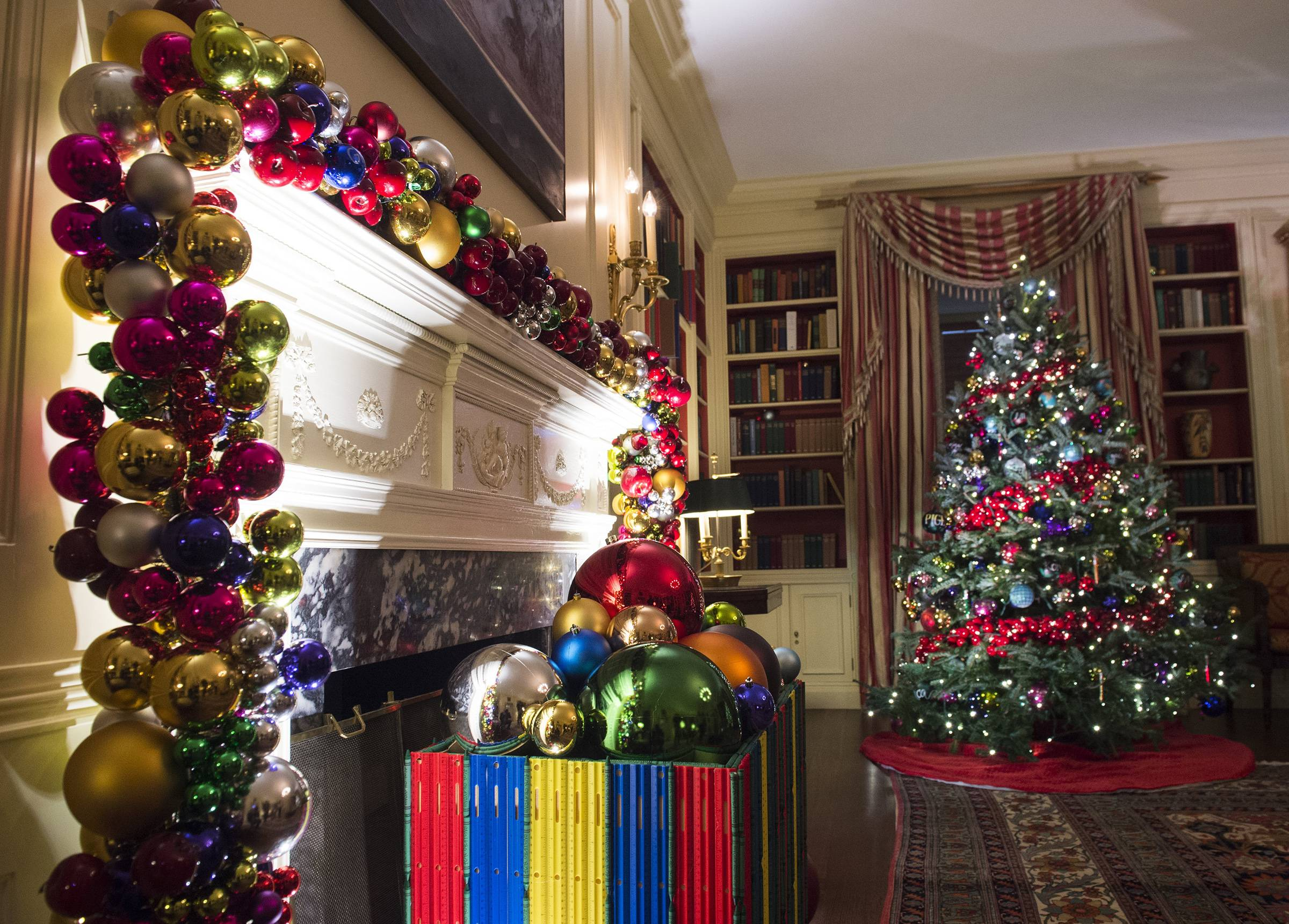 white house christmas decorations 7
