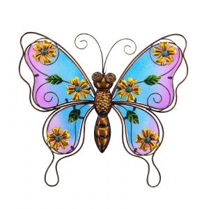 Butterfly Decorations for Outdoors Best Of Creative Motion Industries Stained Glass butterfly Outdoor
