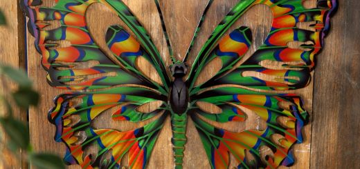 Butterfly Decorations for Outdoors Elegant Have to Have It 3d butterfly Metal Outdoor Wall Art $39 99
