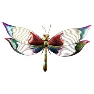 Butterfly Decorations for Outdoors Luxury Alpine Colorful Metal Dragonfly Outdoor Wall Art