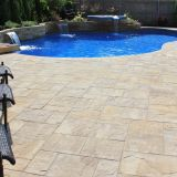 Cambridge Ledgestone Xl Pattern Awesome Cambridge Ledgestone Xl Sahara Chestnut Lite Paver Pool