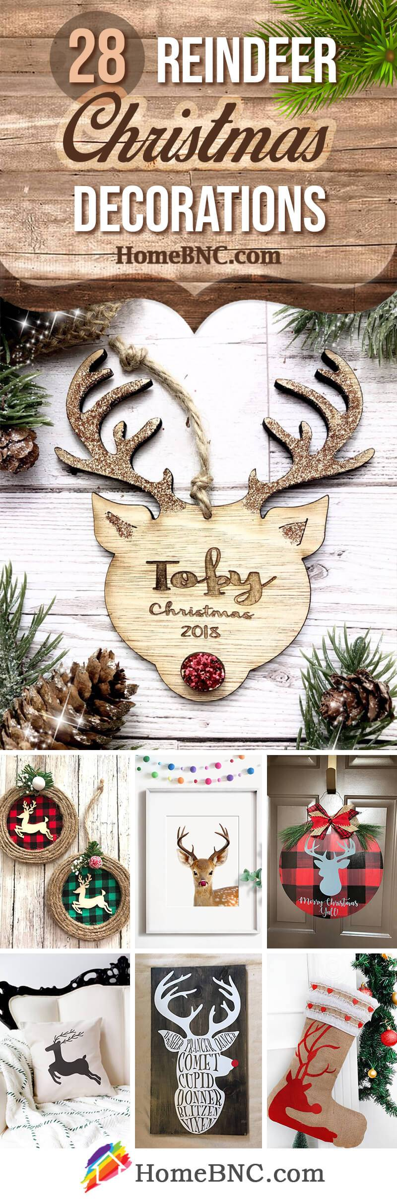 best christmas reindeer decoration ideas pinterest share homebnc