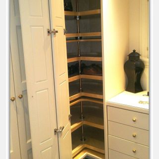 Corner Kitchen Cabinet Storage solutions Beautiful Floor to Ceiling Corner Lazy Susan Cabinet