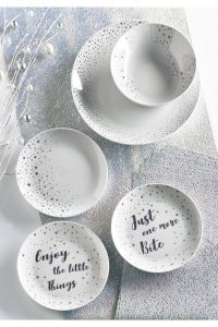 Decorative Plates for Kitchen Awesome Next Set Of 2 Lumi Side Plates Silver