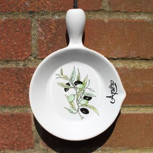 Decorative Plates for Kitchen Lovely Vintage Apero Ceramic Olive Oil Plate Dish Spoon Rest
