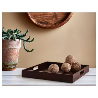 Decorative Tray with Balls Unique Ikea Utvandig Dark Brown Decorative Tray
