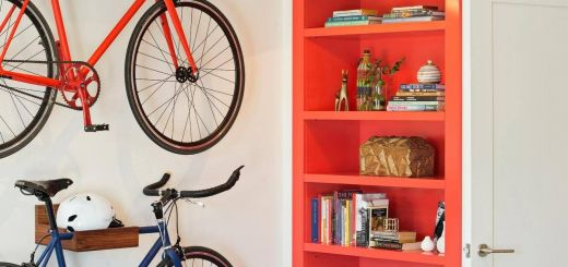 Diy Wall Mount Bike Repair Stand Inspirational Transitional Bedroom with Bike Storage