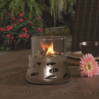 Exceptional island Lights Decofire Luxury Bond Manufacturing Y2686 Estrella Decofire Tabletop Fire Bowl with Lavaglass Dark Bronze