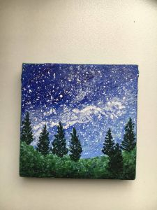 Exceptional Two Canvas Painting Ideas Inspirational Check Out My Other Mini Paintings and Etsy Page for Mini