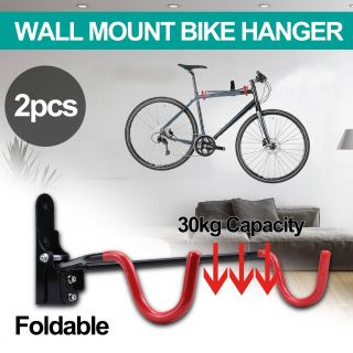 Exceptional Wall Mounted Bicycle Holder Luxury Details About 2x Bike Bicycle Steel Holder Rack Stand Garage Wall Mount Storage Hook Hanger