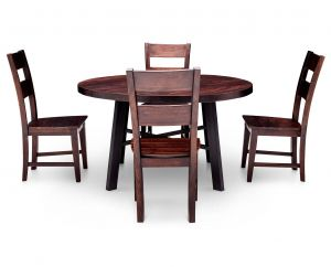Expandable Dining Table Lovely Nepali 5 Pc Round Dining Room Set