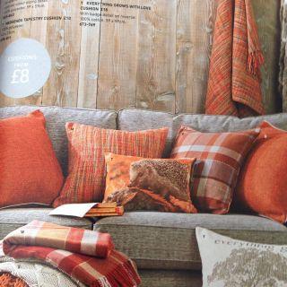 Fantastic Beige and orange Living Room Luxury Next orange Cushions