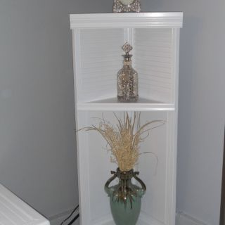 Fantastic Decorative Wire Corner Shelf Lovely Corner Shelf Made Out Of 1 Bi Fold Closet Door