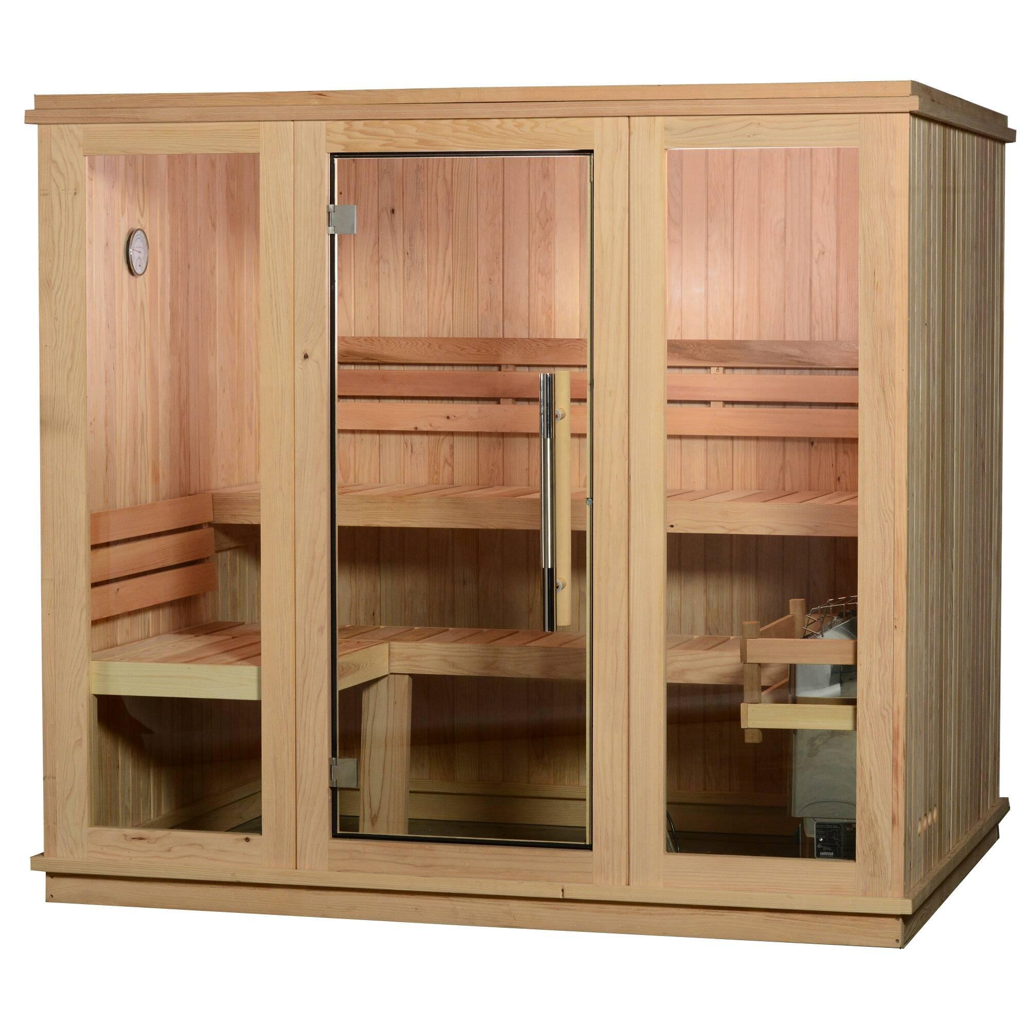 bridgeport 6 person traditional steam sauna