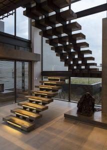 Fantastic Modern Library Design Ideas Luxury House Boz Staircase