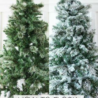 Feliz Navidad Outdoor Decorations New How to Flock A Christmas Tree