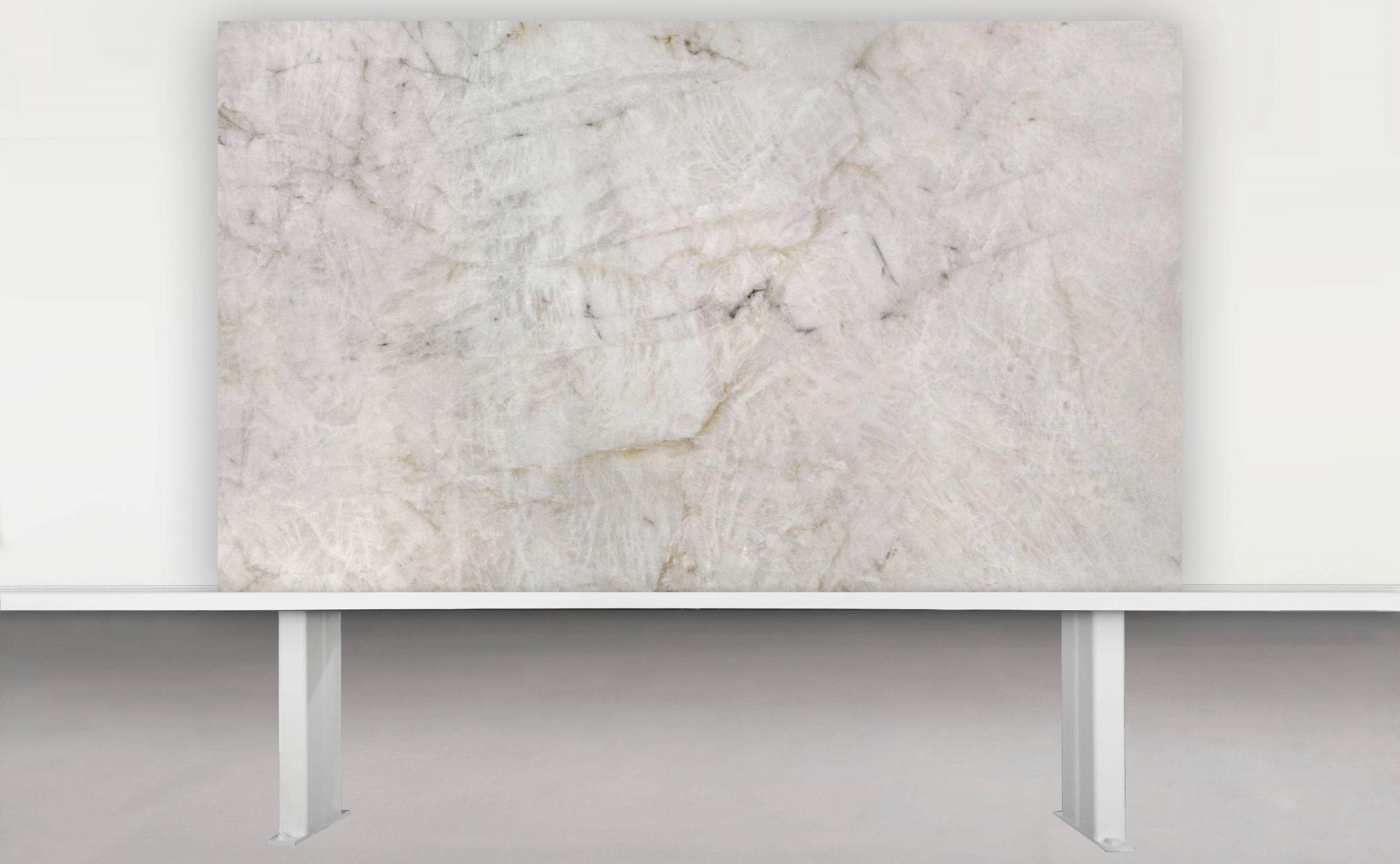 Aria Stone Gallery 2cm Bianco Quartzite A6604 Wall 1