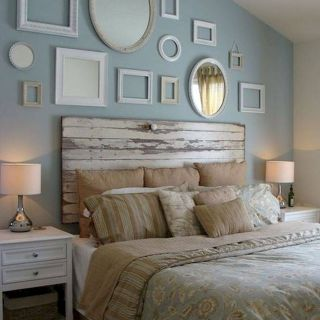 Fresh Design Headboard Painted On Wall New 60 Most Creative Diy Projects Pallet Headboards Bedroom