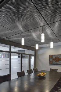 Fresh Design Industrial Light Unique Mesh Ceiling Panels Google Search