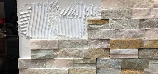 How to Install Stone Veneer Over Brick Fireplace Awesome How to Install Stacked Stone Tile On A Fireplace Wall