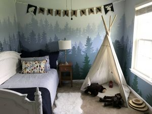 Incredible Baby Room Wallpaper Beautiful Mountain Mural toddler Bedroom Little Boys Bedroom with