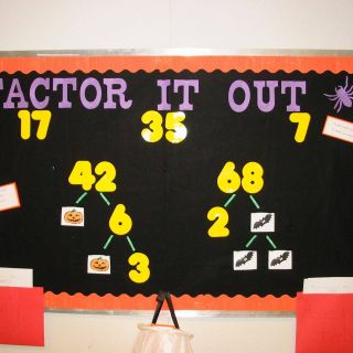 Incredible Bulletin Board Ideas Best Of Factor It Out Bulletin Board Idea
