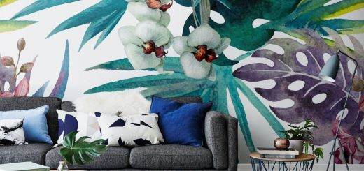 Incredible Easy Wall Mural Ideas Beautiful 13 Walls You Won T Believe are Wallpaper