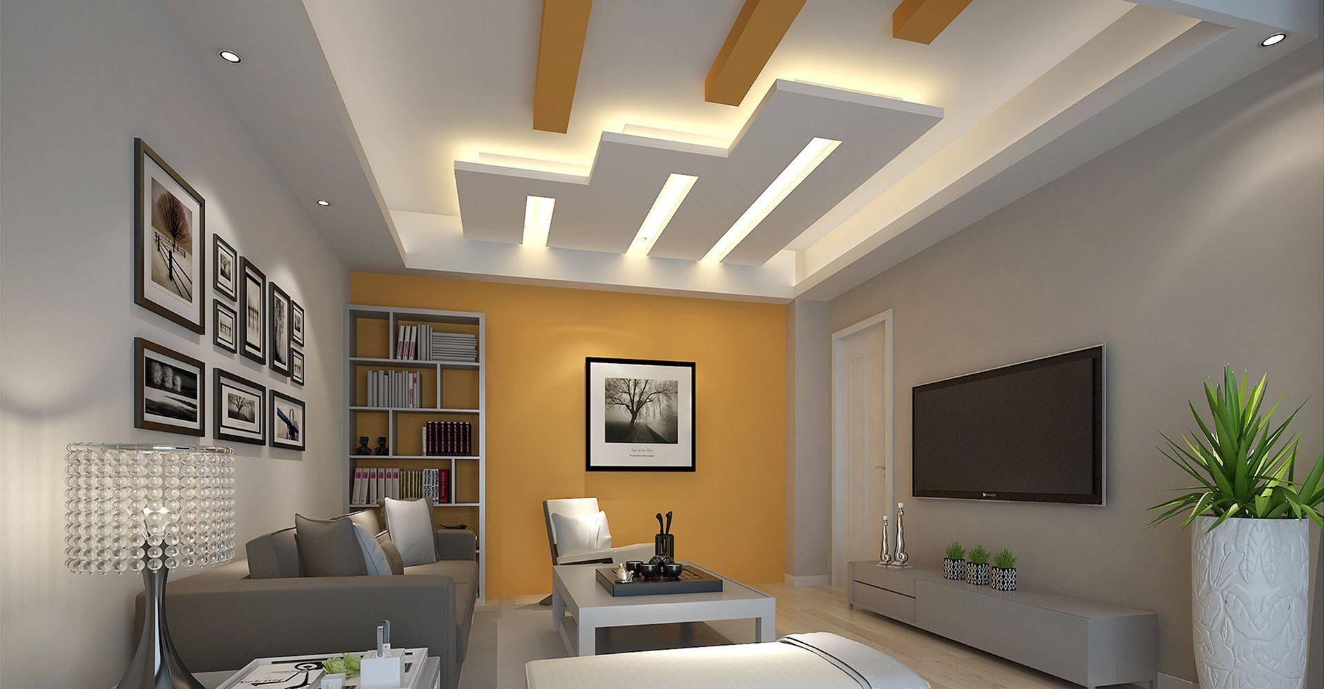 Incredible Fall Ceiling Designs for Living Room | Home Design